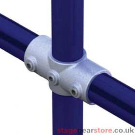 Doughty T11900 - Pipeclamp Two Socket Crossover