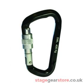 Doughty T2870001 - Karabiner, Tested, Black