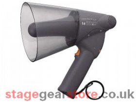 TOA ER-1206 Handheld Megaphone, 6W, IPX5, Grey, Range 250m