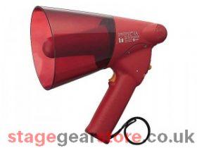 TOA ER-1206S Handheld Megaphone, 6W, Siren, Red, Range 250m/315m