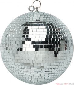 FX Lab Silver Mirror Ball with Dual Hanging Points Diameter (mm) 500mm (20 inch)