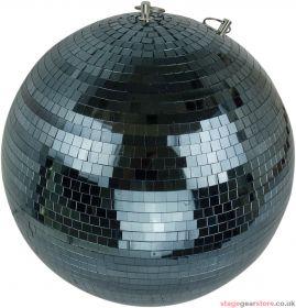 "FX Lab Black Mirror Ball Size 400mm (16"""")"