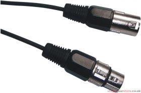 FX Lab DMX 3 Pin XLR to 3 Pin XLR Lighting Lead Length (m) 1.5