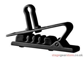 AKG H2 Croco Clip - 5 Pack - Black