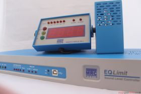 MRC Audio EQ Limit - Data Logging Sound Limiter - 1U rack mount