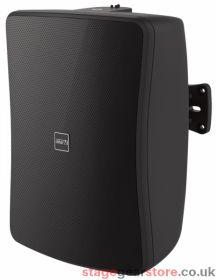 """Inter M WS30T-BK 30W 4"""" 2-way Full Range Music Speaker, 100v line / Low Z - Black"""