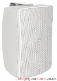 """Inter M WS30T-WK 30W 4"""" 2-way Full Range Music Speaker, 100v line / Low Z - White"""