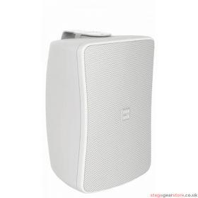 """Inter M WS50T-WK 50W 5"""" 2-way Full Range Music Speaker, 100v line / Low Z - White"""