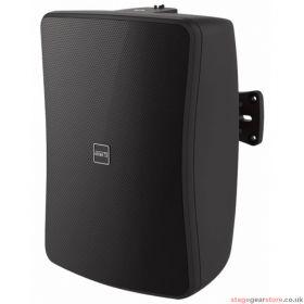 """Inter M WS80T-BK 80W 6.5"""" 2-way Full Range Music Speaker, 100v line / Low Z - Black"""