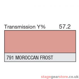 Lee Lighting Filter Sheet 791 Morocca Frost