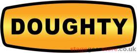 Doughty S0130 M8 X 20 Knob Male, Black