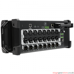 Mackie DL16S 16 Channel Wireless Digital Mixer Portable live sound mixer with iPad control.