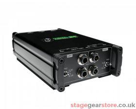 Mackie MDB-2P Stereo Passive Direct Box.