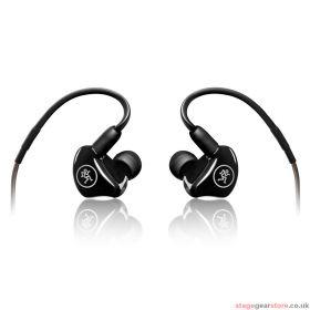 Mackie MP-220 Dual Dynamic Driver Professional In-Ear Monitors.