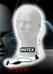 MITEX - 1 wire Acoustic Earpiece with PTT