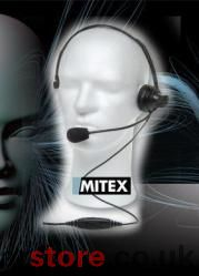 MITEX - Boom Overhead Headset with inline PTT