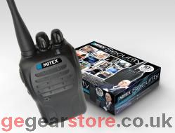 MITEX - Security 5 watt UHF - 2 way radio - EACH