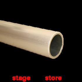 "MTX - 48mm Plain ""Scaffold"" tube 1m length SILVER"
