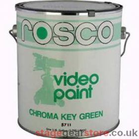 Rosco 57115 - Chroma Key GREEN Paint - (18.95Litres)