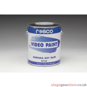 Rosco 57105 - Chroma Key BLUE Paint - 18.95Litres