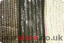 Discontinued - Rosco 206119 - Black/gold/clear Shimmerscrim (1.22m x 100m bolt)