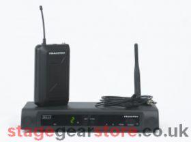 Trantec S4.10-L - UHF - Lapel Radio Microphone System - CH70