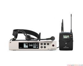 Sennheiser ew 100 G4-ME3-B Wireless headmic set.