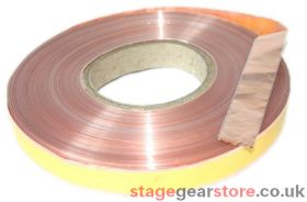 Signet FLAT 2005 Copper Tape for Loop Amplifiers 1.0mm/sq 100m