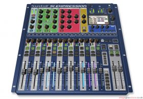 "Soundcraft Si Expression 1 16Ch Digital Live Sound Mixer (Inc 19"" RMK)"