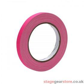 eLumen8 Fluorescent Cloth Gaffer Tape 3170 12mm x 23m - Pink