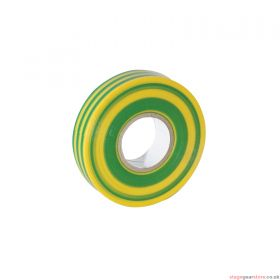 eLumen8 Economy PVC Insulation Tape 19mm x 33m - Yellow/Green