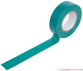 PVC Tape Roll 19mm x 20m - Green