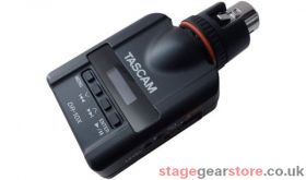 TAscam DR-10X Mic-attachable audio recorder