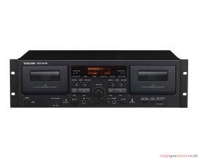 Tascam 202MKVII Dual Cassette Desk with USB Output