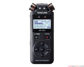 Tascam DR-05X Stereo Handheld Audio Recorder / USB Interface