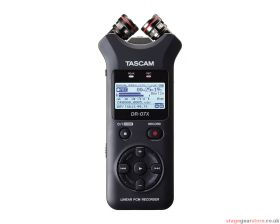 Tascam DR-07X Stereo Handheld Audio Recorder / USB Interface