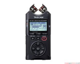 Tascam DR-40X 4-Track Portable Digital Audio Recorder / USB Interface