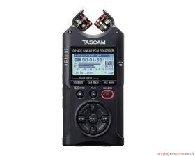 Tascam DR-40X 4-Track Portable Digital Audio Recorder / USB Interface