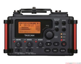 Tascam DR-60DMKII 4-Track Audio Recorder for DSLR Cameras