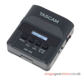 Tascam DR-10L / DR-10LW Digital Audio Recorder With Lavalier Microphone