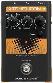 TC HELICON Voicetone E1 - Echo & Tap Delay Stompbox