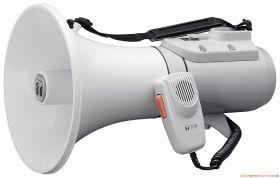 TOA ER-2215 Shoulder Megaphone, 15W, Grey, Range 400m