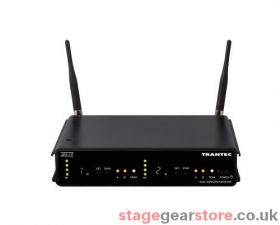 Trantec S4.10-RX2-LL-GG3 Dual Receiver System with 2 x Lapel Transmitters 606-614MHz