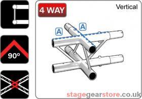 Trilite 2LDJ4V  Ladder Truss Junction