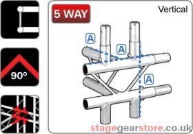 Trilite 1LDJ5V  Ladder Truss Junction