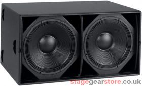 Martin Audio WS218X - Dual-driver vented sub-bass system