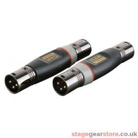 DAP 3p XLR M/ 3p XLR M adapter