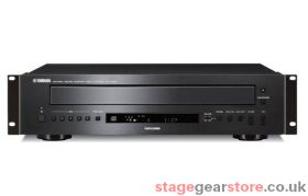 Yamaha CD-C600BL-RK, 5 disc Carousel Multi-CD Player with RS232