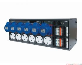 Zero 88 Betapack 4 6x15a and 6xCEE17 outlets