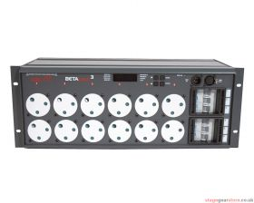 Zero 88 Betapack 3 DMX Dimmer with 15A outlets, 00-307-11